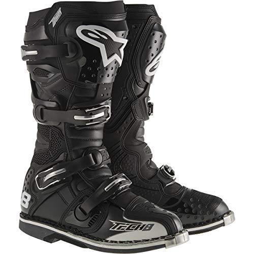 Alpinestars Unisex Erwachsene Tech 8 Rs Stiefel, Schwarz, Größe 08 (Mehrfarbig, Einheitsgröße