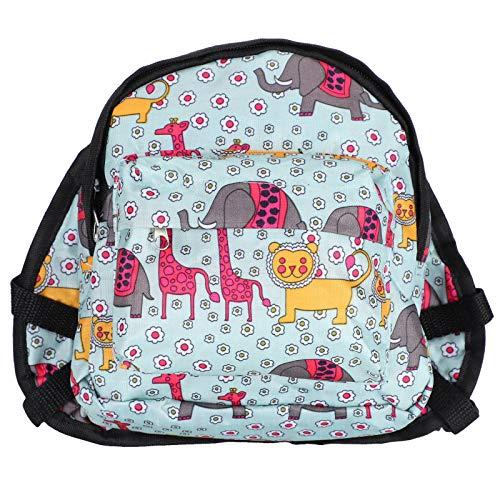 YanyanDz Mochila multifunción para perro de mascotas, mochila portátil de viaje con correa para arnés