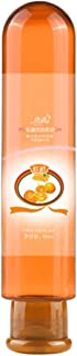 xinYxzR Fruit Flavor Water Based Edible Sex Lubricant Adults Anal Vaginal Oral Gel 80ml Orange