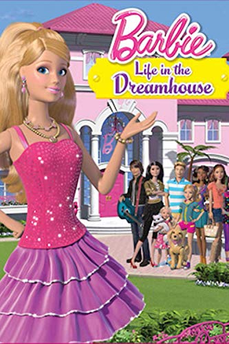 Barbie Life in the Dreamhouse: Cute Lined Writing Notebook For Kids, teen girls, Notebook For drawing doodling or sketching, wide ruled lined paper notebook journal (6' x'9 100 Pages)