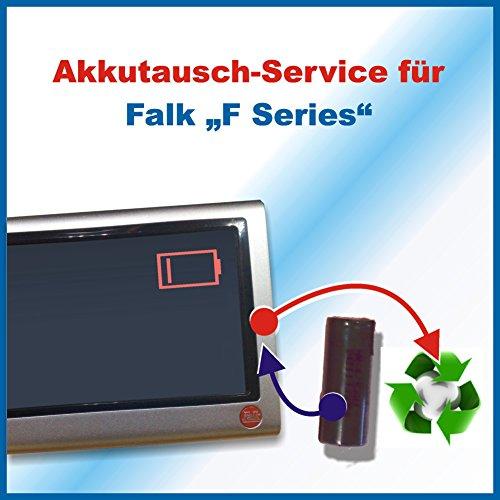 Premium-Akkutausch für Navi Falk Series F/ SeriesF / F Series / F Serie mit vorab zugesendetem Versandmaterial *Akkutauschen.de ist ausgezeichnet mit dem Qualitätssiegel Werkstatt N des Rates für Nachhaltige Entwicklung*