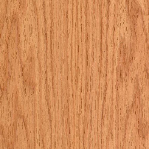 """WOOD-ALL Red Oak Wood Veneer Sheet, 'A' Grade Plain Sliced/Flat Cut, 24"""" x 96"""" with a 10 Mil Paperback/PSA Peel and Stick – Easy Application for Any Restoration"""