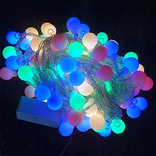 QGXDT USB Plug in LED Fairy Lights,1.5m 10 LED Bulbs Waterproof Starry String Lights for Bedroom Patio Garden Party Wedding Commercial Lighting