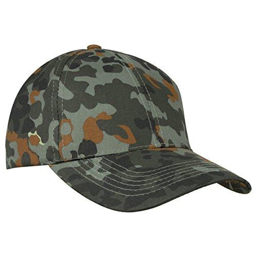 Miltec Erwachsene Flecktarn Cap, Camo, One Size