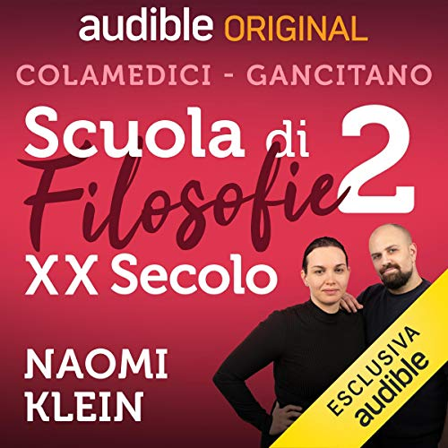 Naomi Klein audiobook cover art