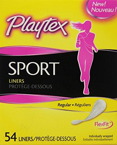 Playtex Sport Body Shape Liners, Regular - 54 Count