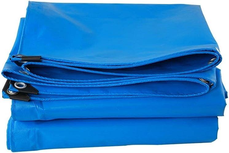 HUIYUAN Bache Extérieure Imperméable Efficace écran Solaire Résistant à L'humidité Bleu