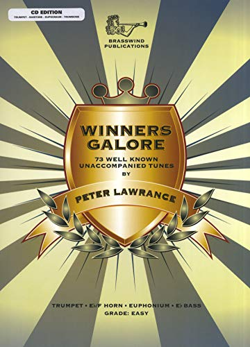 Winners Galore - Treble Brass (Book/CD). Partituras, CD para