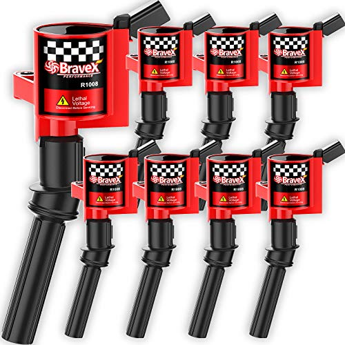 High Performance Ignition Coil 8 Pack -Upgrade 15% More Energy for Ford F150...