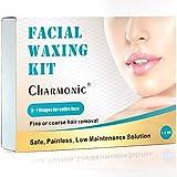 Cire pour épilation du visage pour femme, kit de cire épilatrice pour le visage, poils de cire dure pour épiler les poils du...
