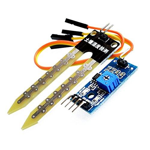 Dosige Boden-Hygrometer-Detektionsmodul-Roboter-intelligenter Fahrzeug-Boden-Feuchtigkeitssensor für Hygrometer und Arduino