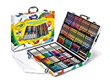Crayola Inspiration Art Case: 140 Pieces, Deluxe Set with Crayons, Pencils, Markers
