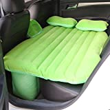 ERHANG Colchones De Aire Camas Hinchables Colchones De Aire Cars Air Beds Camas De Viaje Flocado Camas Inflables Camping,Green