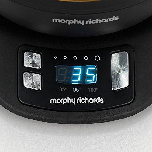 Morphy Richards 43970 Théière Electrique, 2200 W, 1 Liter, Noir