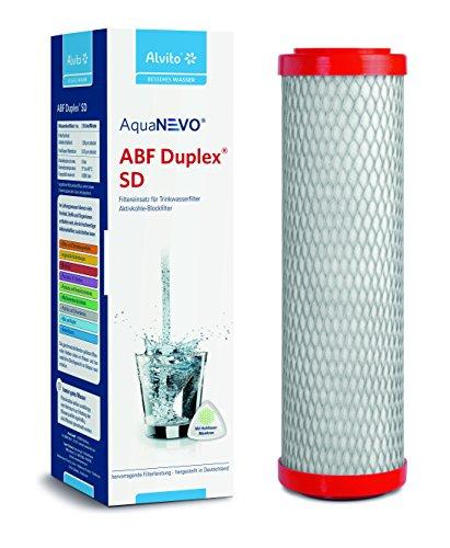 Alvito ABF Duplex SD Wasserfilter, Kohlefilter, normal