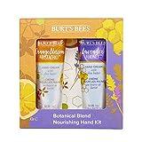 Kit para manos hidratante de 2 artículos con mezcla botánica Burt's Bees con 1 crema de manos con...