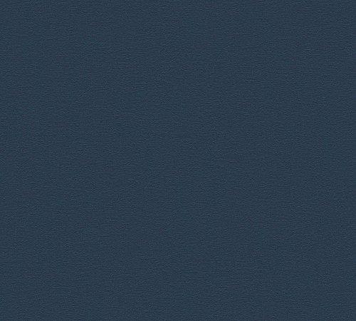 A.S. Création Vliestapete Life 4 Tapete Unitapete 10,05 m x 0,53 m blau Made in Germany 356536 3565-36