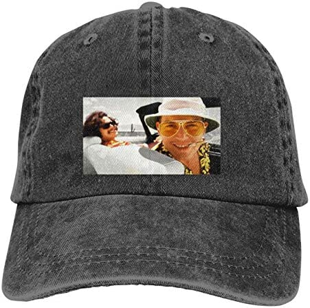Fear and Loathing in Las Vegas Movies Johnny Depp Classic Cowboy Hat Adjustable Baseball Cap product image