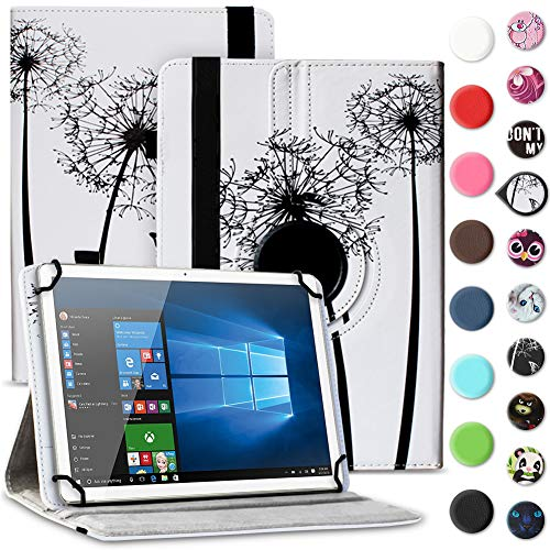 UC-Express Tablet Schutzhülle kompatibel für Archos 70 Xenon - Oxygen Tasche aus hochwertigem Kunstleder Hülle Standfunktion 360° Drehbar Cover Universal Case, Farben:Motiv 7