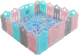 GWFVA Plastic Infant Activity Park Park activity ramp for toddlers