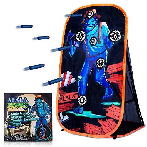 Afala Foam Blasters Practice Zombie Shoohting Target for Nerf Guns for Boys