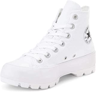 Converse Chuck Taylor All Star Lugged Womens White Hi Trainers