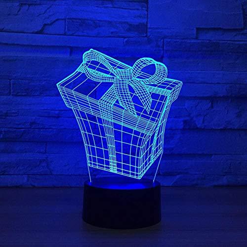 Nachtlampje, 3D-licht, piramide, het beste cadeau voor jongens, meisjes of familie.