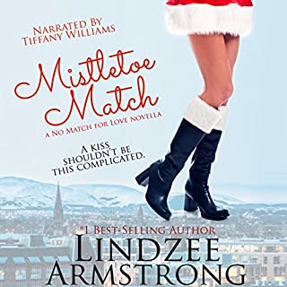 Mistletoe Match audiobook cover art