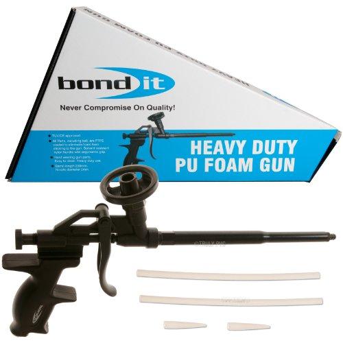 Bond It Heavy Duty Professional Foam Gun, Black