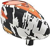 Dye Erwachsene Paintball Loader Rotor Markiererzubehör, Weiß/Schwarz/Orange, One Size