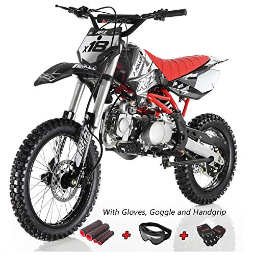 Apollo DB-X18 125cc Dirt Bike Red