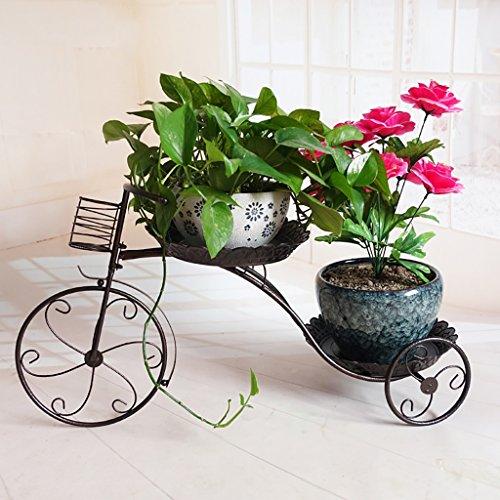 balcon voyantes Rayonnages de fleurs de balcon radios vert à plusieurs étages Salon de style fleur - style étagères suspendues orchidées Plantes d'extérieur Présentoir (taille : 77cm)