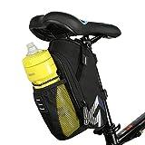Intsun Bike Satteltasche, 1.6L, Tasche für Wasserflasche