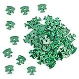100pcs plástico de efecto invernadero sombreado...