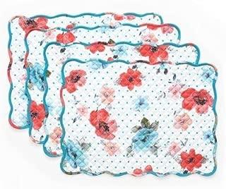 The Pioneer Woman Vintage Bloom Reversible Placemat 4 Pk, 14