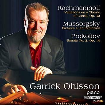 Rachmaninoff, Mussorgsky & Prokofiev: Piano Works