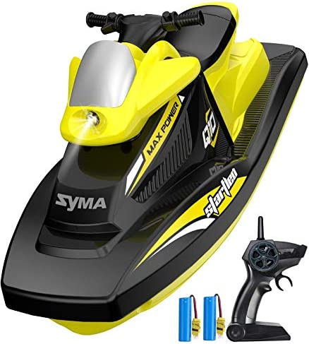RC Boat for Kids SYMA Q10 Remote Control Boats for Pools and Lakes with 2 4GHz 10km h Speedboat product image