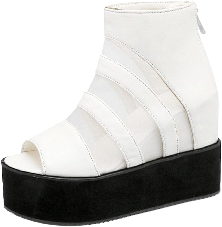 FizaiZifai Women Wedge Heel Sandals shoes