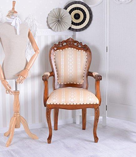 Armlehnstuhl Antik Sessel ESSZIMMERSTUHL Mahagoni Vintage Palazzo Exklusiv