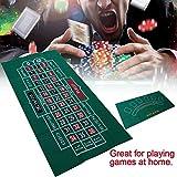 strety Roulette Filz Poker Matte Pokerauflage Doppelseitige Muster-Spieltischdecke, Vliestischdecke, Blackjack- Und Roulettetischdecke 60X120cm Current