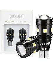 AGLINT T15 T16 LED バックランプ 爆光 高輝度 無極性12V/24V兼用 キャンセラー内蔵 CANBUS 9連3030SMD W16W 921 912 LED バックアップ 6000K ホワイト車検対応 1年保証 2個入り