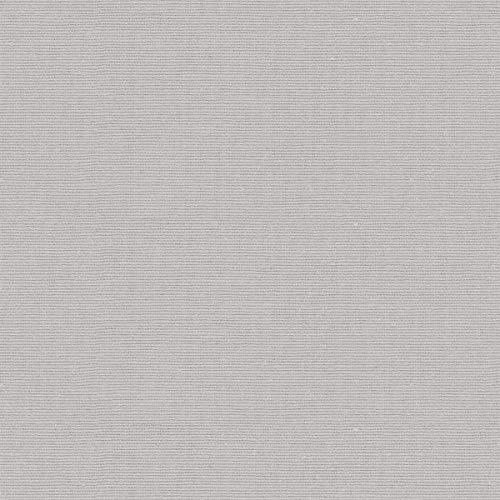 Tela por metros de sábana lisa - Algodón y poliéster - Ancho 270 cm - Confeccionar ropa de cama, decoración, manualidades | Gris claro