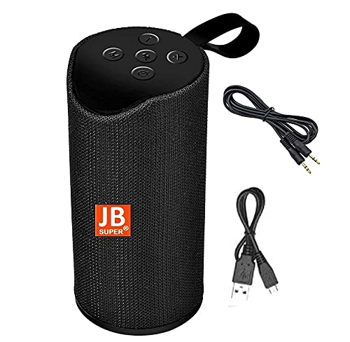 JB Super Bass Portable Wireless Bluetooth Speaker jb22 with Aux Cable 10W with Built-in mic, TF Card Slot, USB Port – Multi Color
