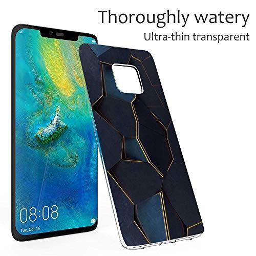 18eay kompatibel mit Huawei Mate 20 Pro Hülle Clear Protective Tasche Hülle TPU Silikon Elefant Hase Design Handyhülle Transparent Schutzhülle für Huawei Mate 20 (6, Huawei Mate 20 Pro) - 4