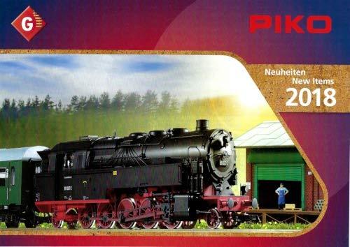 Piko Neuheitentkatalog 2018 für die Spur G Gartenbahn