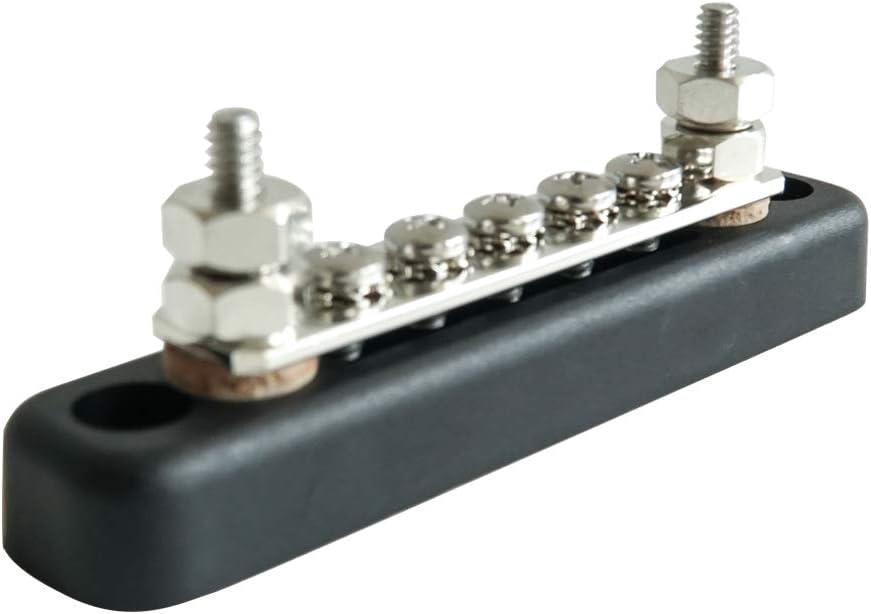 100 A 5 Way Bus Bar 12 V 24 V Power Distribution Vis 5x4MM automarine BB105.1
