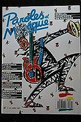 Paroles & Musique 1987 04 n° 69 RITA MITSOUKO MALAVOI Pierre RAPSAT Country Music AUTOGRAPH rock soviétique