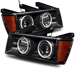 Chevy Colorado / G.M.C Canyon 04-06 Projector Headlight Black Clear (CCFL)