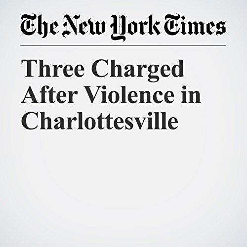 Three Charged After Violence in Charlottesville copertina