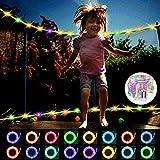 YTTde LED-Trampolin-Leuchten mit Fernbedienung Indoor Outdoor-Nacht Spielen Trampolin-Licht intime Nacht-LED-Lampe für 8ft, 10ft, 12ft, 14ft, 15ft, 16ft, gutes Geschenk für Kinder,8ftt
